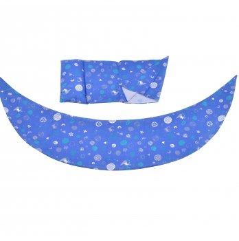 Набор аксессуаров для подушки Nuvita DreamWizar Синий NV7101Blue 2 предмета
