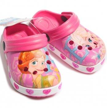 Сабо Disney Холодное сердце (Frozen), розовые