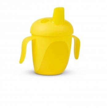 Чашка непроливайка Canpol babies Тропические птицы Желтый 76/001 240 мл