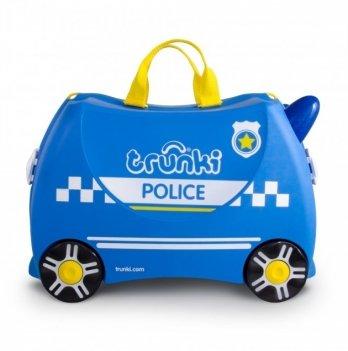 Детский чемодан Percy Police Car Trunki 0323-GB01-UKV