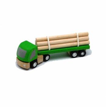 Деревянная машинка PlanToys® Лесовоз