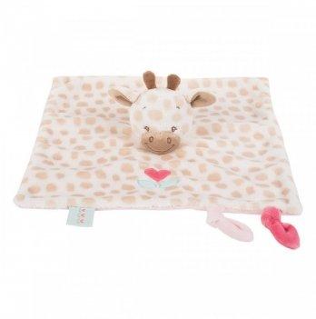 Мягкая игрушка-кукла Nattou, жираф Шарлота