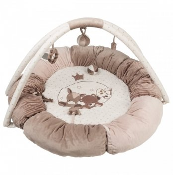 Развивающий коврик с дугами и подушками Nattou, Макс, Ноа и Том