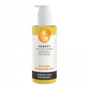 Органическое массажное масло Апельсин Sonett DE7724 145 мл