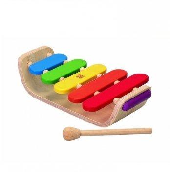 Музыкальная игрушка PlanToys® Овальный ксилофон