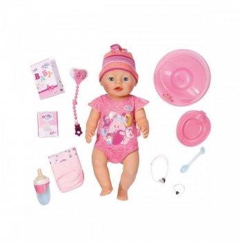Кукла Baby Born Zapf Creation Очаровательная малышка (43 см, с аксессуарами)