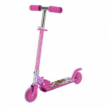 Самокат-скутер лицензионный L.O.L. Surprise, двухколесный, розовый
