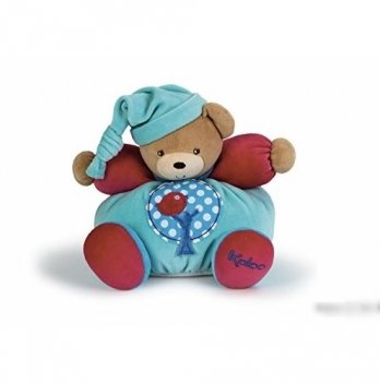Мягкая игрушка Kaloo Мишка с яблоней, средний, Colors