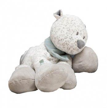 Мягкая игрушка Nattou, леопард Лея, 75см