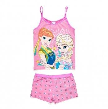 Пижама Disney Холодное сердце (Frozen), розовая