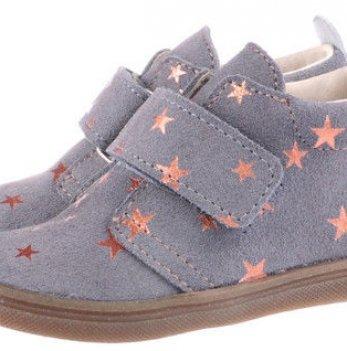 Ботинки Звезда кожаные демисезонные Mrugala серые