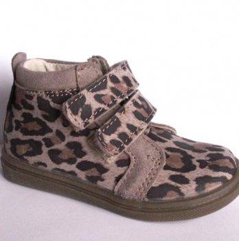 Ботинки демисезонные Mrugala леопард