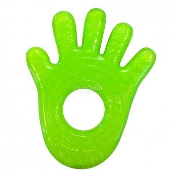 Игрушка-прорезыватель Munchkin Fun Ice Chewy Teether, Ладошка зеленая