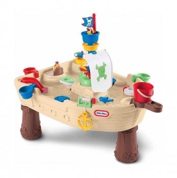 Игровой столик Little Tikes Пиратский Корабль для игры с водой