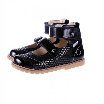 Туфли ортопедические кожаные Ortho Cyborg 2122-90, черный