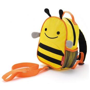 Рюкзак Skip Hop с поводком Пчелка
