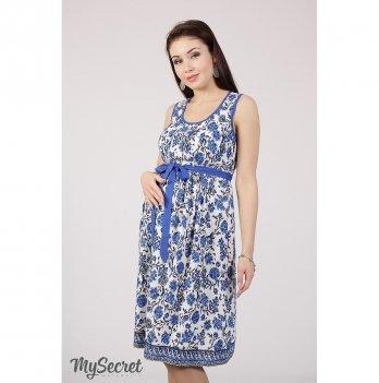 Сарафан для беременных и кормящих мам MySecret Beyonce SF-28.101 голубой