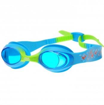 Очки для плавания Zoggs Little Twist, возраст до 6 лет, голубые
