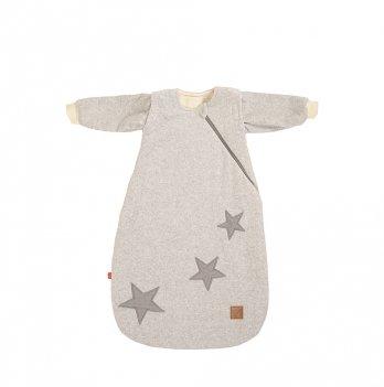 Демисезонный спальный мешочек Muggly Kaiser 65065223 серый меланж 90 см