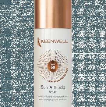 Мультизащитный спрей - флюид для тела Keenwell, SPF 50