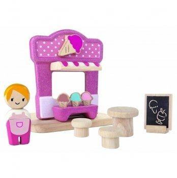 Деревянный игровой набор PlanToys® Кафе-мороженое