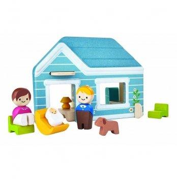 Деревянный игровой набор PlanToys® Дом