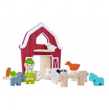 Деревянный игровой набор PlanToys® Ферма