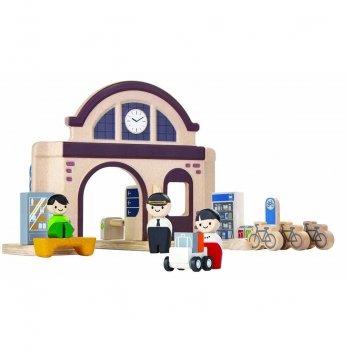 Деревянный игровой набор PlanToys® Вокзал