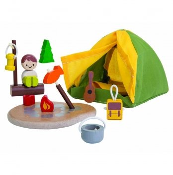 Деревянный игровой набор PlanToys® Туристический