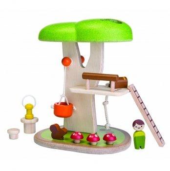 Деревянный игровой набор PlanToys® Домик на дереве