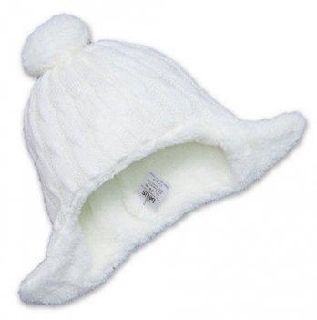 Шапочка зимняя Бетис Сніжок-2, молочная