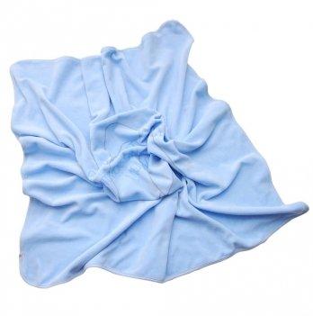 Плед велюровый Minikin голубой