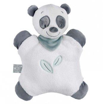 Мягкая игрушка-подушка Nattou, пандочка Лулу, 24см