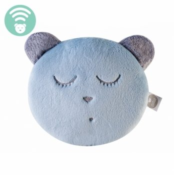 Игрушка для сна с белым шумом MyHummy,  Sleep Head mint/ Браслет синий