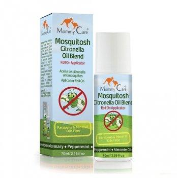 Натуральное роликовое средство от комаров Mommy Care с органическими эфирными маслами (70 мл)