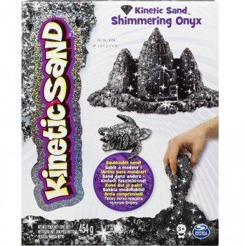 Песок для детского творчества Wacky-Tivities Kinetic Sand Metallic (черный)