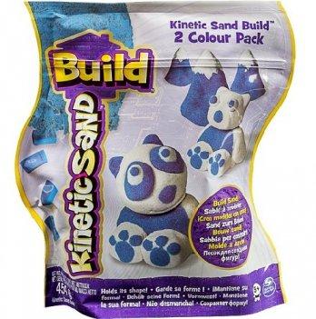 Песок для детского творчества Wacky-Tivities Kinetic Sand Build (белый с голубым)