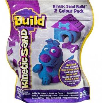 Песок для детского творчества Wacky-Tivities Kinetic Sand Build (голубой с фиолетовым)