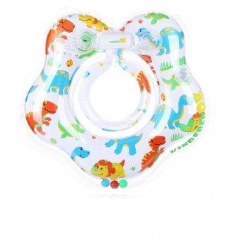 Круг для купания Kinderenok Baby Dino Белый 230318