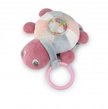 Музыкальная игрушка плюшевая Canpol babies Морская черепаха Розовый 68/070