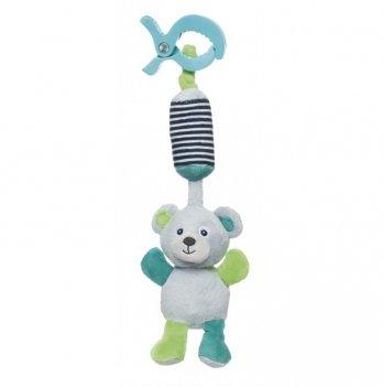 Игрушка плюшевая с колокольчиком Canpol babies Bears, 0+, серая