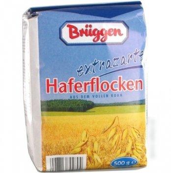 Особо нежные овсяные хлопья Bruggen, 500 г