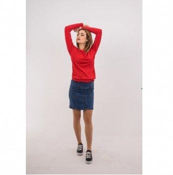 Джинсовая юбка для беременных To Be Синий варка 1 4119723-6