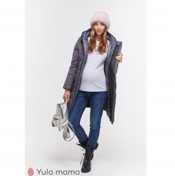 Зимнее пальто для беременных MySecret Angie OW-49.034 графит