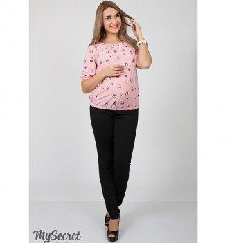 Брюки трикотажные для беременных MySecret Vogue light TR-17.011 черный