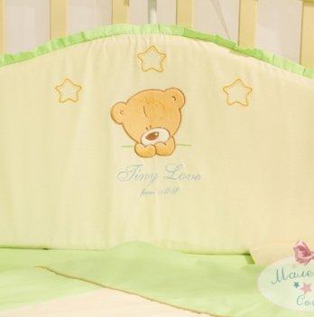 Защита для кроватки в комплект Tiny Love салатовый Маленькая Соня