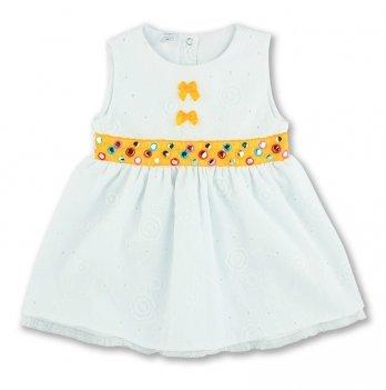 Платье PaMaYa 7-28 белый 3-6 лет