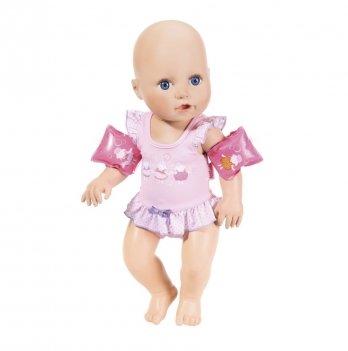Интерактивная кукла BABY ANNABELL Zapf Creation, Научи меня плавать (43 см, с аксессуарами, плавает в воде)