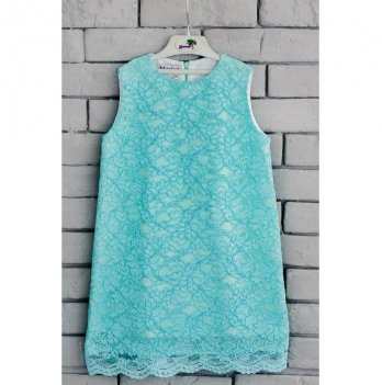 Платье Flavien бирюзовое, 7004/03