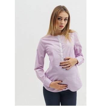 Блуза для беременных и кормящих To Be Сиреневый 1707224